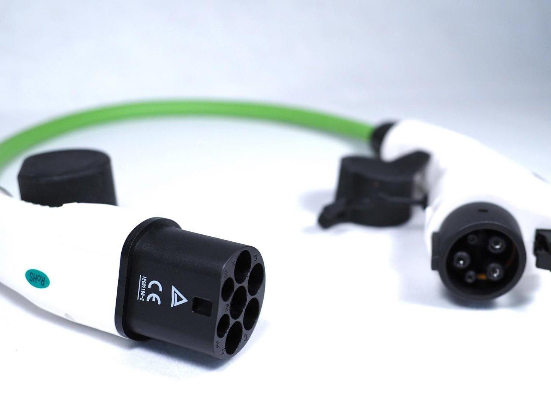 ladekabel adapter type2 kupplung type 1 stecker 32a. Black Bedroom Furniture Sets. Home Design Ideas